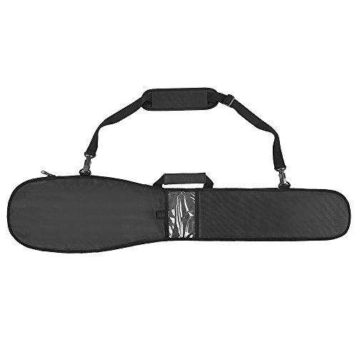 Lixada Sac de Pagaie de Kayak Long Kayak Canoe Paddle Housse de Rangement Housse de Sacoche (Noir)