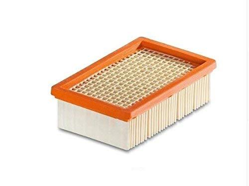 1-10 Stück Flachfilter für KÄRCHER - ersetzt original Filter wie 2.863-005.0 für MV 4 5 6 P Premium (WD6, WD 6 Premium, 1 Filter)