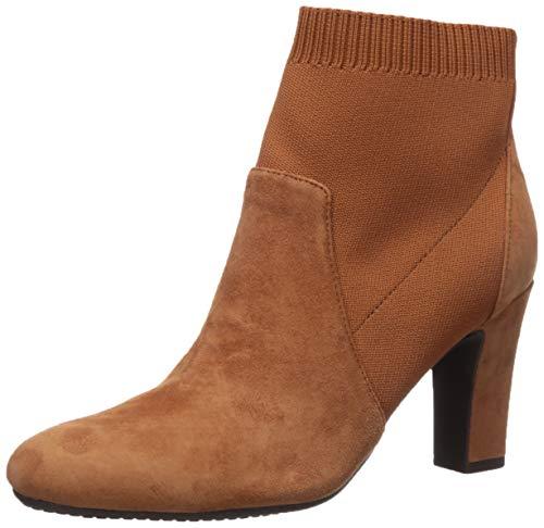 Aerosoles Women's Tagline Ankle Boot, Dark Tan Suede, 10 M US