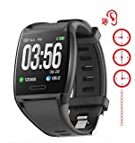 Smart Watch for Cell Phone Call Vibrating Alarm Medication Reminder cochlear implant