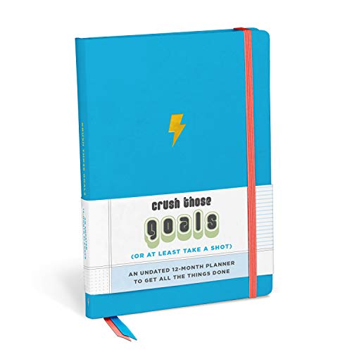 Knock Knock Crush Those Goals Undated Planner and Weekly Agenda Notebook