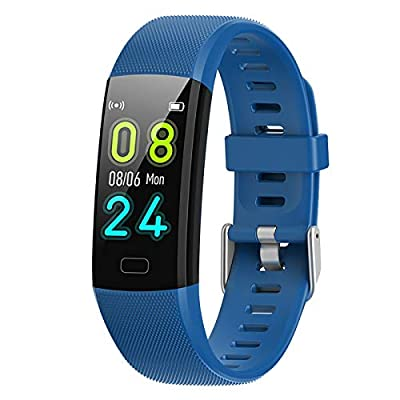 Airbinifit Fitness Tracker for Kids,Waterproof Activity Tracker with Heart Rate Monitor,Pedometer Watch,Clock, Sleep Monitor, Stopwatch,Step Counter for Boys and Girls Teens by Airbinifit