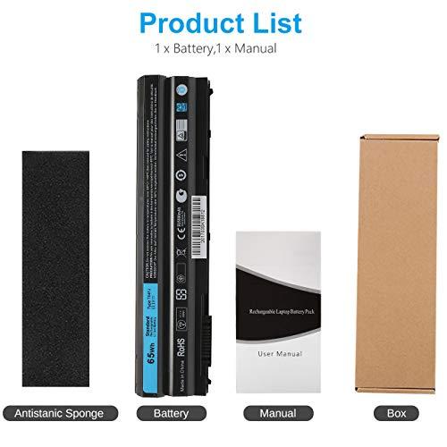 New E6420 T54FJ Laptop Battery Compatible with Dell Latitude E5420 E5530 E6430 E6520 E6530 15R (5520) 17R (5720) 17R…