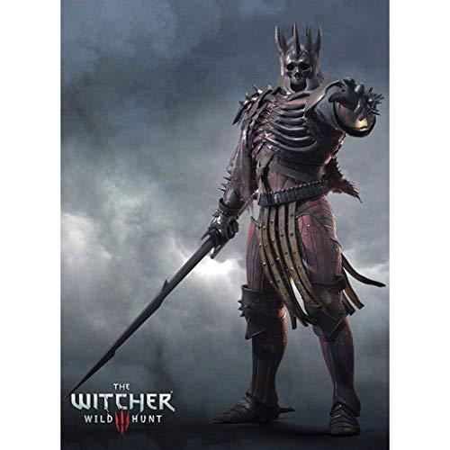 Rompecabezas The Witcher 3: Caza Salvaje Jigsaw Eredin Breacc Glas Juguete del Juego de Regalo 300/500/1000/1500 Piezas ( Size : 500 Pieces )