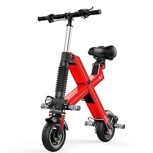 Bicicletas eléctricas Plegables Scooter de Mujer para Hombres Adultos Mini patinetes eléctricos...