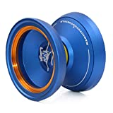 MAGICYOYO M002 April Unresponsive Yoyos Advanced Yo-yos Professional Yo Yo w/ Glove Bag Strings Kit for Kids Adults Gift Toy Blue