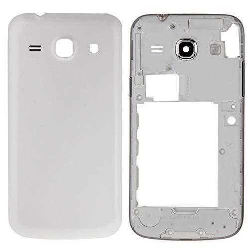 Sustituto de partes antiguas o malas. IPartsBuy tapa de la carcasa completa (carcasa intermedia Bazel + batería cubierta trasera) for Samsung Galaxy Core Plus / G350 accesorios ( Color : White )