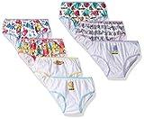 Hasbro Big Girl's Lost Kitties Girls 7-Pack Panties Underwear, Lost Kitties, 6