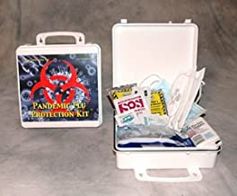 One Person Pandemic Flu Kit - Complex (case w/supplies)