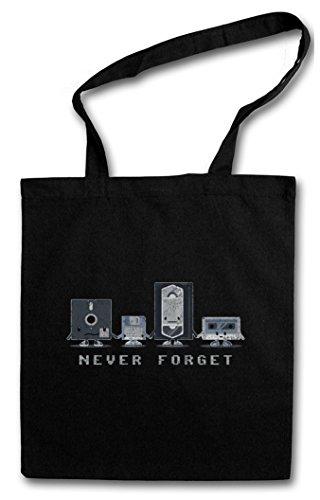 Never Forget Hipster Bag – Retro...