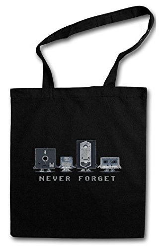 Never Forget Hipster Bag – Retro...