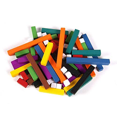 Eta Hand2mind Plastic Cuisenaire Rods Set Of 74