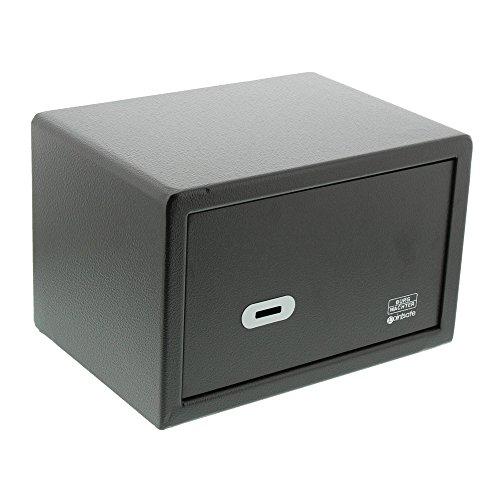 BURG-WÄCHTER Möbeltresor mit Schlüssel, Point-Safe, 6,7 l, 8,0 kg, P 1 S, Schwarz
