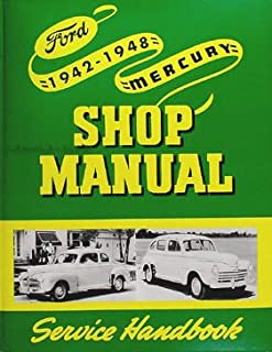 1942-1948 Ford Mercury Shop and Overhaul Manual Reprint Car and Truck