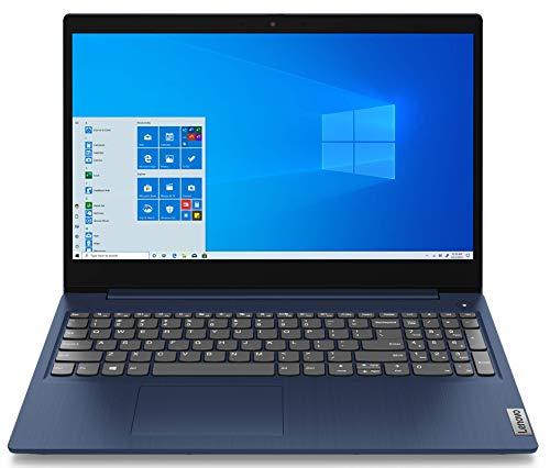 Lenovo IdeaPad 3 - Ordenador Portátil 15.6' FullHD (Intel Core i5-1135G7, 8GB RAM, 512GB SSD, Intel Iris Xe Graphics, Windows 10 Home en Modo S) Azul - Teclado QWERTY Español