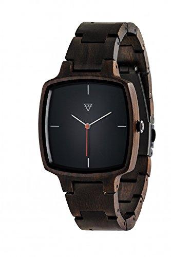 Kerbholz Herren-Armbanduhr Hans Analog Quarz Holz 0612524231008