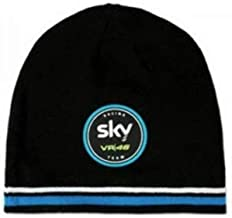 Champions Motorsports Beanie Sky VR46 Logo Black Official Valentino Rossi 46 Located in USA