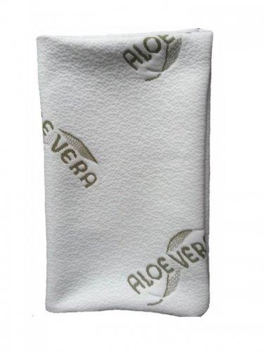 MaxxGoods Aloe-Vera-Kissenbezug - hautfreundlich und antiallergisch, 42 x 70 cm