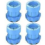 Queta 4 Pic Almohadillas Antivibración Lavadora universal de goma para electrodomésticos mueble...