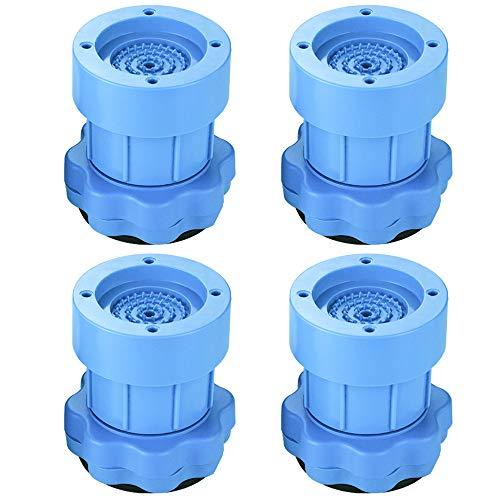 Queta 4 Pic Almohadillas Antivibración Lavadora universal de goma para electrodomésticos mueble Amortiguador de Vibraciones Arandelas Alfombra antideslizante de pie refrigerador