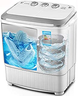 2 in 1 Shoes and Clothes Washer and Dryer Machine Brush Shoes and Drying Mini Laundry Machine UV Blue Light