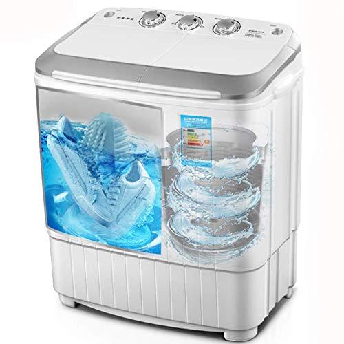 Shoes Washing Machine Máquina Lavadora y Secadora de Zapatos y Ropa 2 en 1 Cepillo para Zapatos y Secadora Mini máquina de lavandería Luz Azul UV