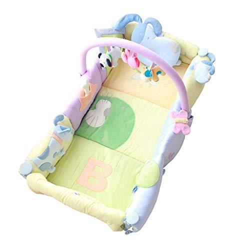 Best Price HLR-Crib Travel Travel Cots Crib Baby Bassinet Cuddle Nest for Bed Game Bed Portable Remo...