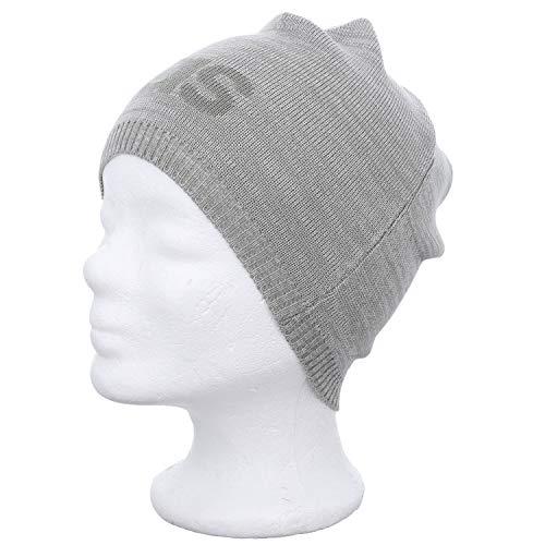 adidas Daily Beanie LT Hat, Medium Grey Heather/Solid Grey, One Size