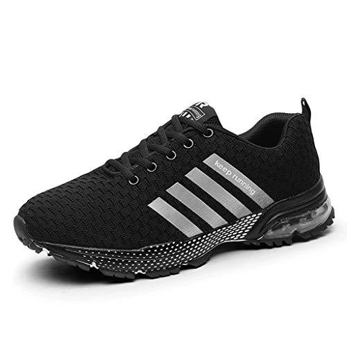 Logobeing Zapatillas Deporte Hombres Running Zapatos Hombre Deportivos Casuales Zapatillas Running Hombre Auriculares Correr en Asfalto Calzado Deportivo Hombre