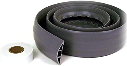 Belkin Cord Concealer with Double-Sided Adhesive Tape (Gray, 6 Feet) (Renewed)