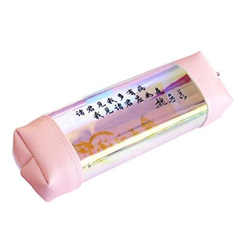 Constance goed uitziende cultivatie transparante potlood case make-up cosmetische tas student briefpapier zakken 1 exemplaar