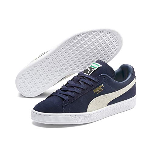 PUMA Herren Suede Classic+ Snk Sneakers, Blau (peacoat-white), 38 EU