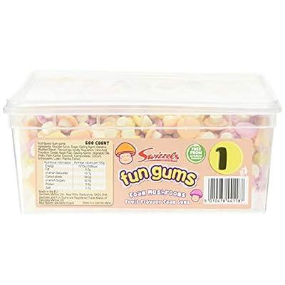 swizzels foam mushrooms fun gums - 600 pack Swizzels Foam Mushrooms Fun Gums – 600 Pack 41yAoQH7RuL