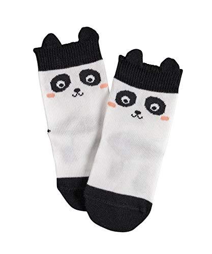 FALKE Babys Socken Baby Panda, 0, 1 Paar, Weiß (Off-White 2040), Größe: 80-92