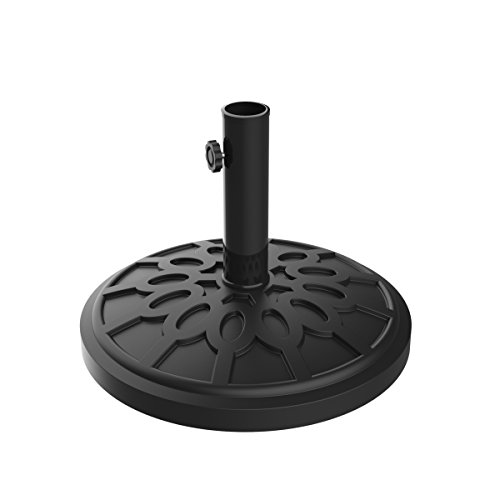 """Umbrella Base Outdoor Patio Umbrella Holder, Heavy Weight Holds Up To 1.9"""" Pole Freestanding, Table, Deck, Balcony, Backyard, Poolside by Pure Garden"""