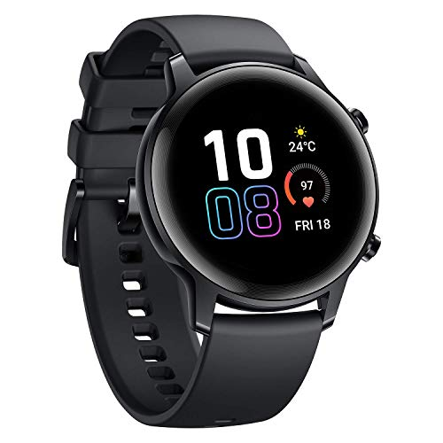 Honor MagicWatch 2 42mm 1.2' AMOLED Waterproof Smart Watch Display 14 Sports Modes 5ATM GPS Activity Tracker Smartwatch