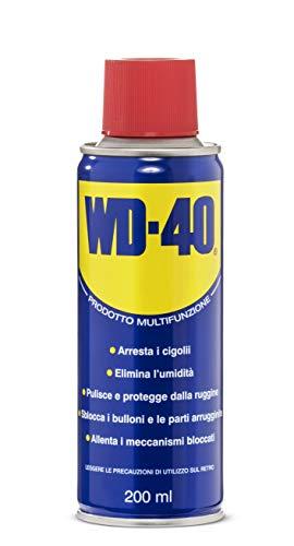 WD-40 Prodotto Multifunzione Lubrificante Spray, 200 ml