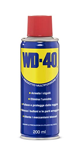 WD-40 Prodotto Multifunzione - Lubrificante Spray - 200 Ml