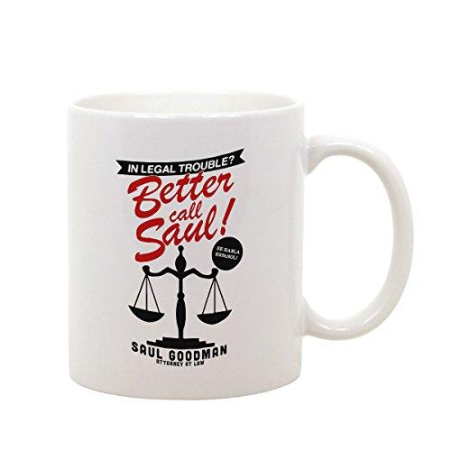 Tazza Mug in Ceramica Better Call Breaking