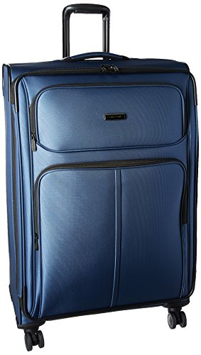 Samsonite Leverage LTE Softside Expandable Luggage with Spinner Wheels, Poseidon Blue