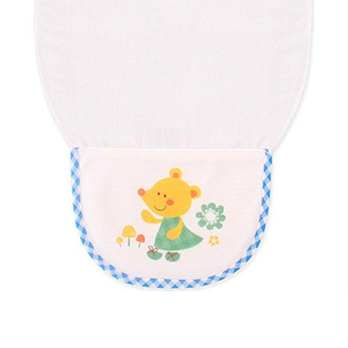 Mignon Dessin animé bébé Serviette absorbant la transpiration Serviette de lingettes, Mouse