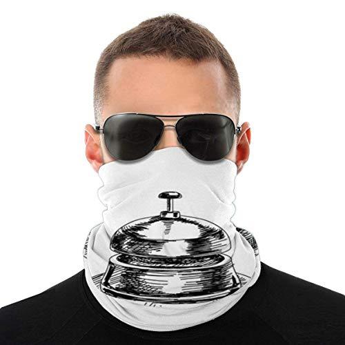 WH-CLA Calentador De Cuello Bell Retro G-Raffiti Hombres Impresos Al Aire Libre Festivales Antipolvo Deportes Respirable Cuello Polaina Calentador Pañuelos Ciclismo Sombreros Protección