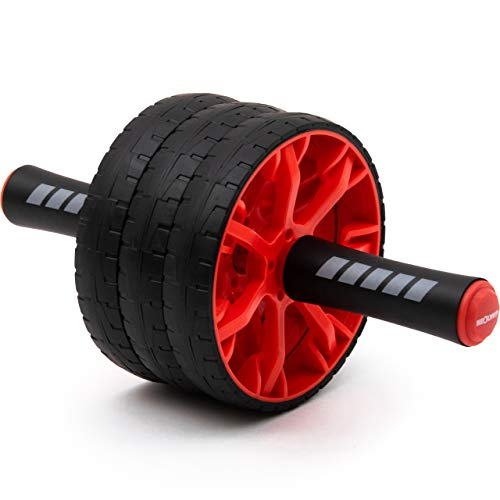 NEOLYMP Premium Bauchtrainer AB Roller | Sixpack Trainer | Bauchroller | Bauchmuskeltrainer | Bauch Weg Trainer | Bauchmuskeltraining | AB Roller | AB Wheel | Abdominal Roller