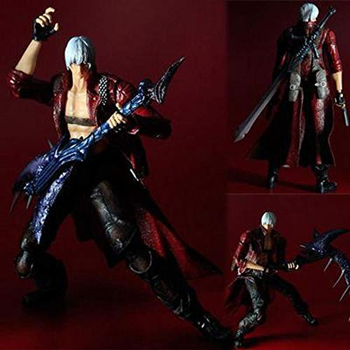 POIUYT Action-Figur Devil May Cry 3 Dante Joint Beweglichen Charakter-Modell-Spielzeug-Dekoration