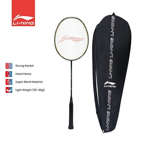 Li-Ning G-TEK 78 GX (AYPP294-5) Graphite Strung Badminton Racquets (Blue/Gold)