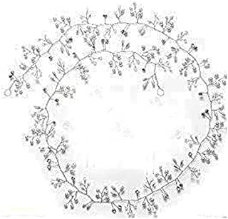 MAYCREATE®1 pc Bridal Hair Vine Pearl and Crystal, Wedding Headband Rhinestone, Bridal Headpiece Silver 100cm, Headdress Hair Band for Bridesmaid Hair Accessories(100 cm, Silver)