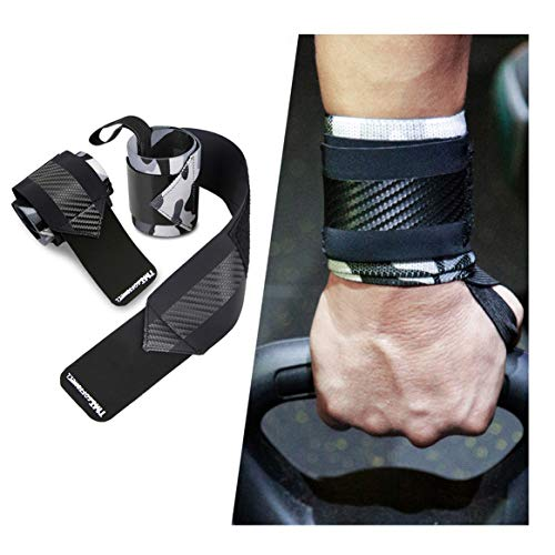 Wrist Brace for Men and Women Wrist Wraps Support Strap for Weight Lifting Powerlifting Sports Strength Training Fitness Carpal Tunnel Arthritis 1 Pair