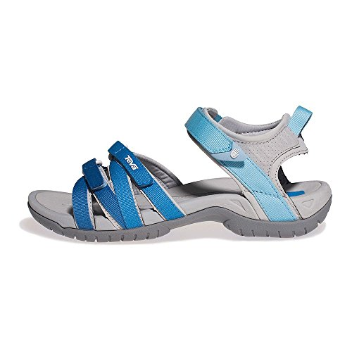 Teva W Tirra, Damen Sport- & Outdoor Sandalen, Cool Blue Gradient, 37 EU (4 UK)