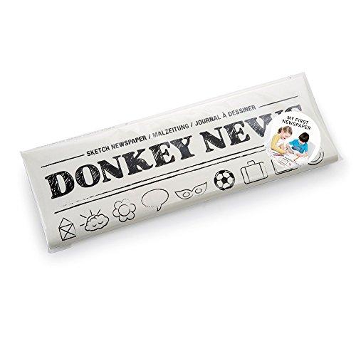 DONKEY Products News, Malbuch, Mal Buch, Bilder Malen, Zeitung, 16 Seiten, 400716