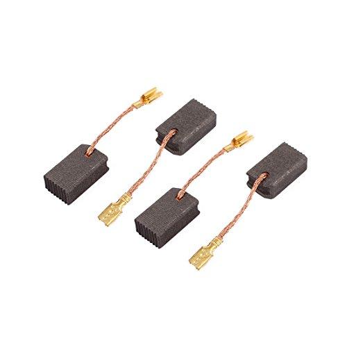 sourcingmap® 2 pares de Escobillas de carbón de Motor perforación eléctrico útil 6 x 9 x15mm sin muelle